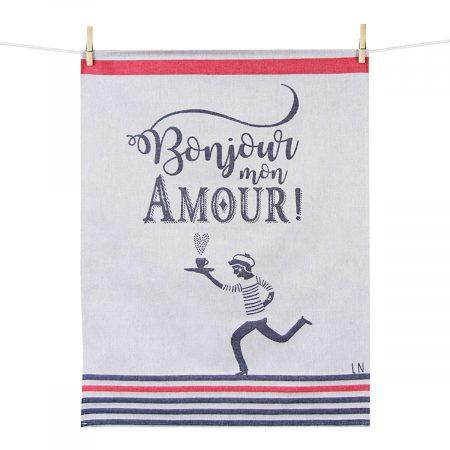 torchon bonjour mon amour