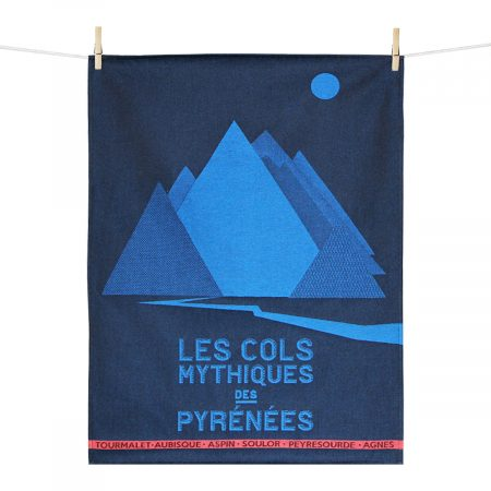 torchon made in france cols mythiques des pyrénées