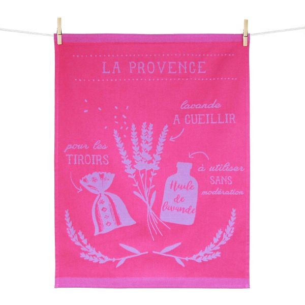 torchon lavande made in france
