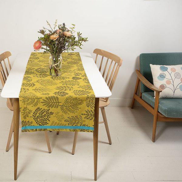 chemin de table made in france design mini labo. idée décoration table tendance