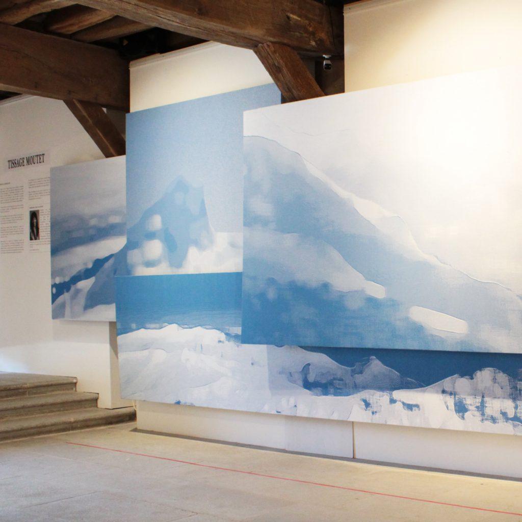 exposition musee basque blue landscape barbara asei dantoni