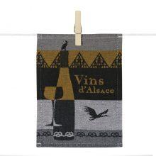 Para-tapas Vins d'Alsace - Tissage Moutet