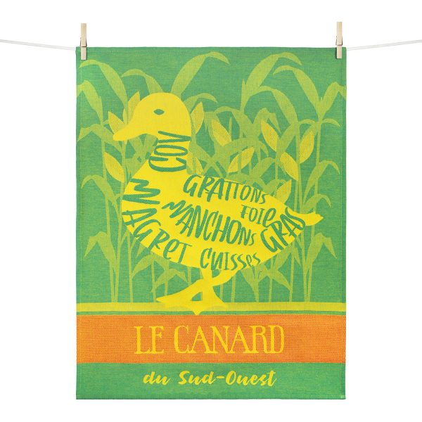 Torchon Canard du Sud-Ouest Made in France