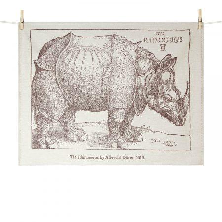 Torchon Rhinocéros - Albrecht Dürer