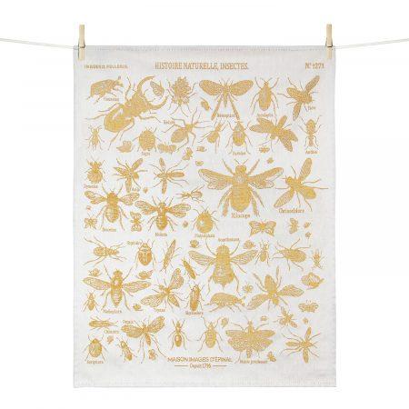 Torchon Histoire naturelle - Insectes - Maison Images d'Epinal