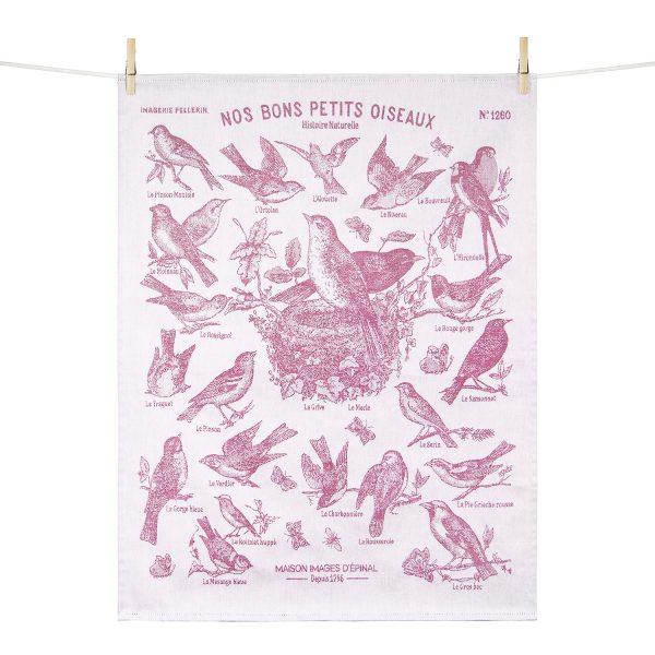Torchon Nos bons petits oiseaux - Maison Images d'Epinal
