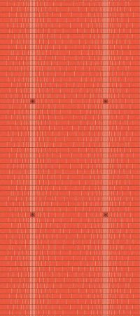 Longère linge basque rouge brodée Pareta Samuel Accoceberry Tissage Moutet