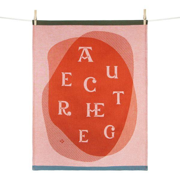 Torchon Harri - Samuel Accoceberry Studio Tissage moutet