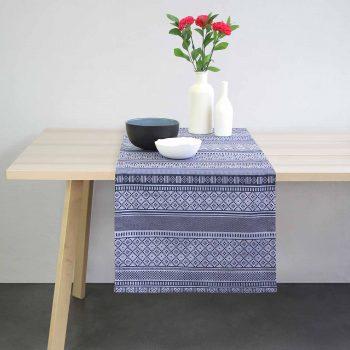 linge basque chemin de table design textile contemporain béarnais fabriqué à orthez